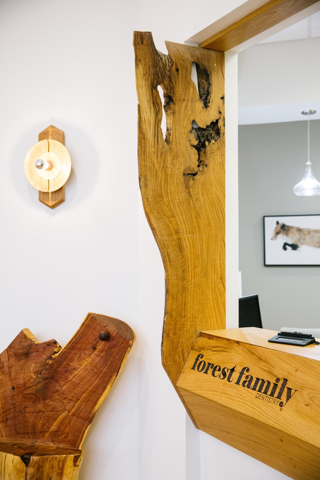 Forest Family Dentistry Office 2 | Springer Design Studio