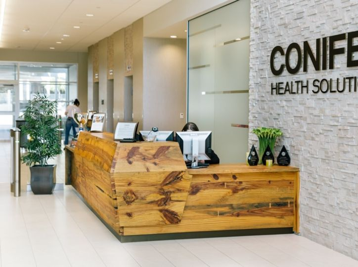 Conifer Health Solutions Reception Desks